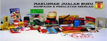 Hari Pendaftaran, Jualan Buku & Alatan Sesi Persekolahan 2020
