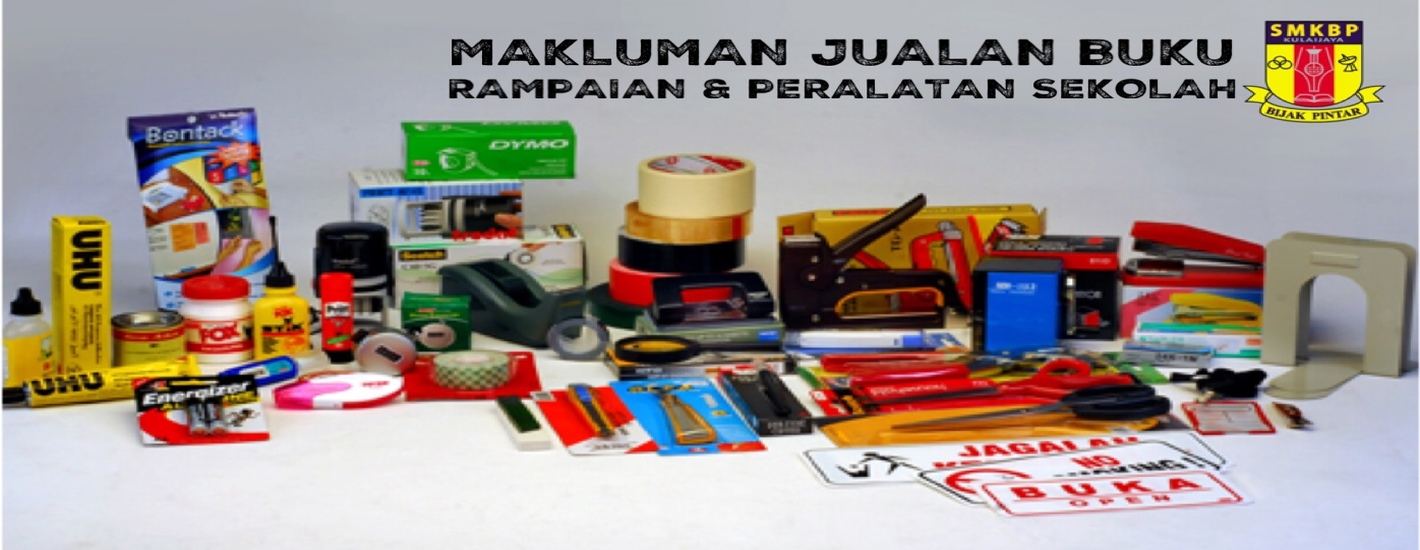Hari Pendaftaran, Jualan Buku & Alatan Sesi Persekolahan 2021