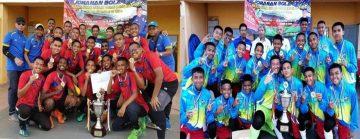 Pasukan Bola Sepak SMK Bandar Putra & DTC-JDT Kulai 2019