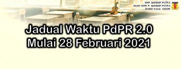 Jadual Waktu PdPR 2.0 Mulai 28 Februari 2021